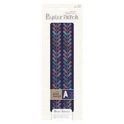 Decoupage Papierbögen (3Stk) - Papier Patch - Colour Paisley