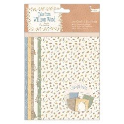 A6 Cards & Envelopes - Tles from Willson Wood