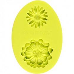 3D Silikonform Margarite und Kamille