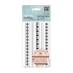 Tall Urban Stamp (5pcs) - Craft Christmas